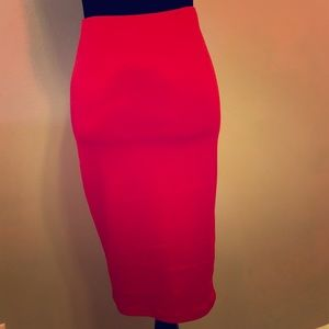 ✨NEW LISTING✨ Red Stretchy Pencil Skirt